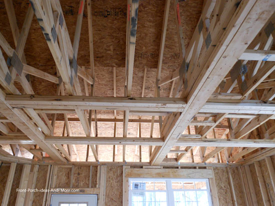 framing for coffered ceiling