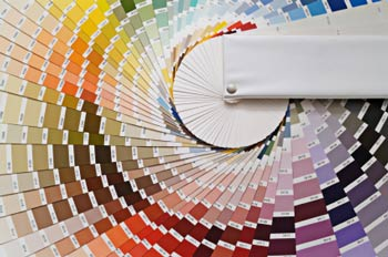 color swatches wheel
