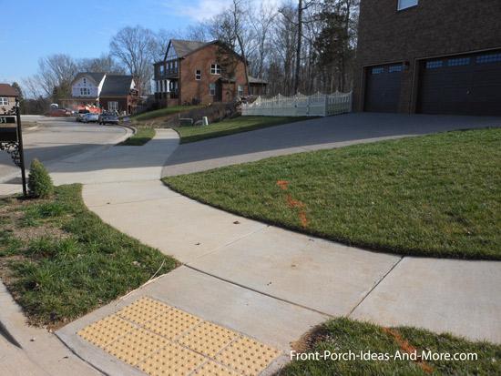 welcoming community sidewalks