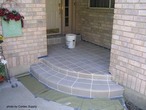 concrete floor paint ideas designs