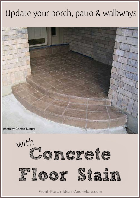Staining concrete is an option to totally explore!