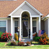 contemporary style front porch