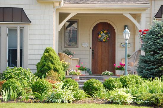 contemporary porch brackets