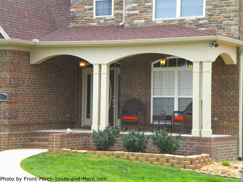 lovely contemporary home and porch - Home Porch Design