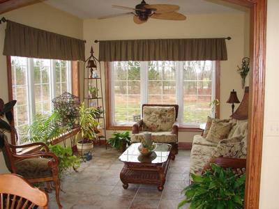 Convert screen porch to four season room for Four season porch plans