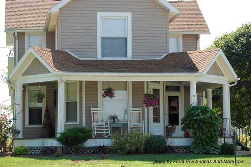 Front porch design ideas front porch designs front for Country style homes with porches