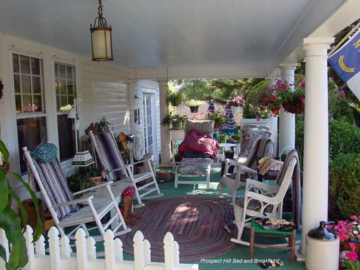 Country porch furniture