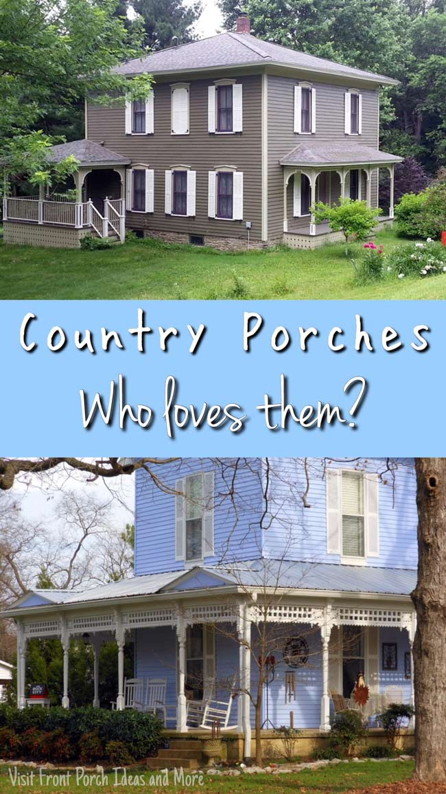 Love me a country porch