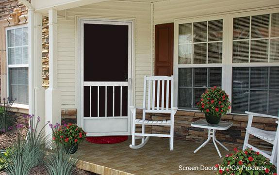 custom screen doors by PCA