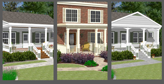front porch illustrator walkway ideas