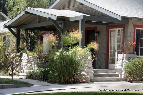 South pasadena california front porch ideas craftsman Craftsman style gables