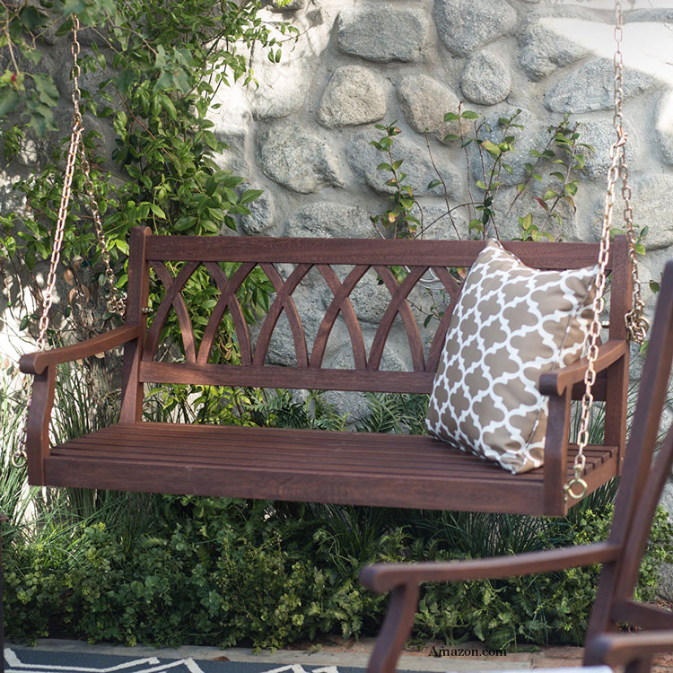 Comforting Wood Porch Swings Are Beautiful