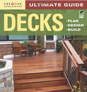 book cover covering how to build a deck