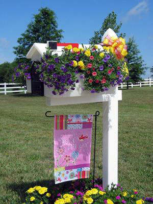decorative mailbox cover