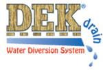 Dek Drain logo