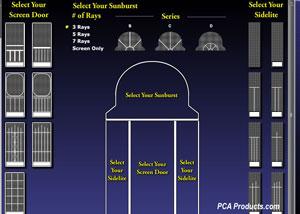 designing a screen door screen shot