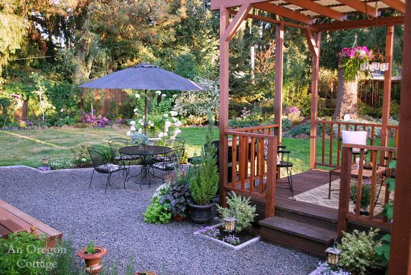 DIY backyard makeover