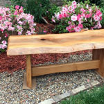 Beautiful DIY garden bench