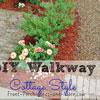 diy gravel walkway project