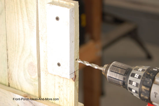 drilling hole for t-nut