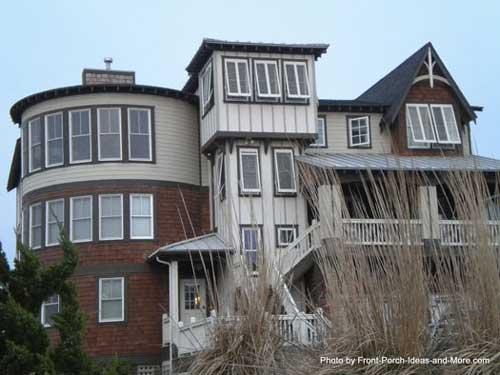 interesting porch design