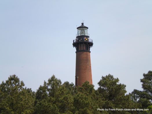 lighthouse in Duck NC