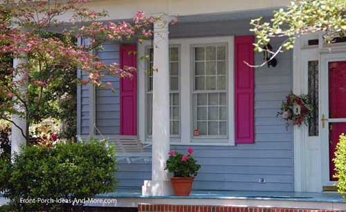 contrasting porch colors for maximum curb appeal