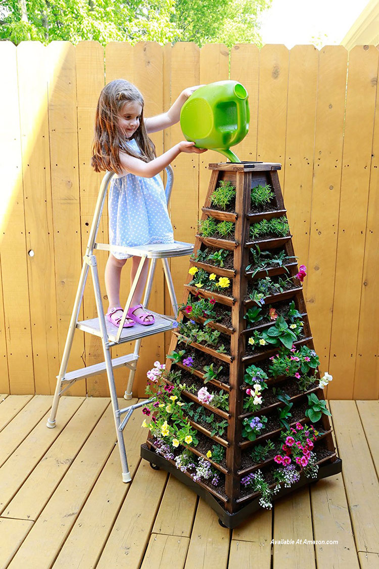 Nature's Distributing Stacking Planters available at Amazon.com
