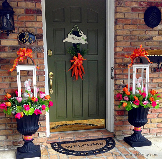 Spring decoration ideas spring decorating ideas for Deco exterieur halloween