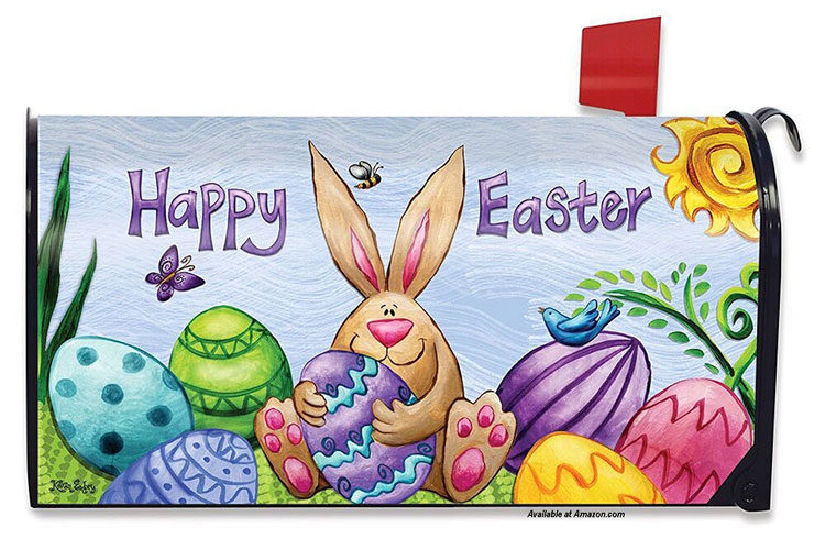 easter themed mailbox cover from amazon.com