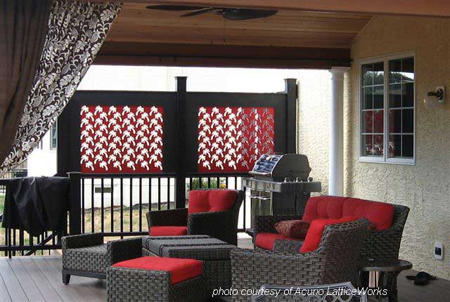 How To Make Porch Privacy Panels