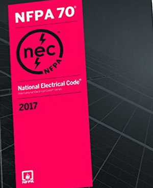 cover of the national electrical codes book