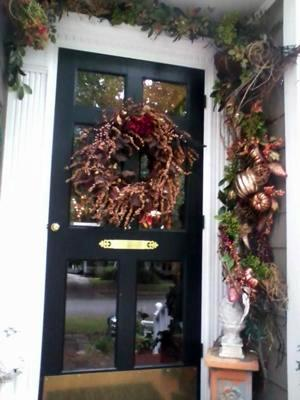 Elegant Front Door for the Fall