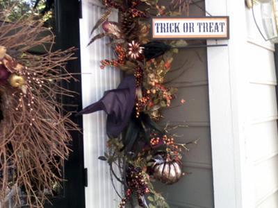 Elegant Front Door for the Fall