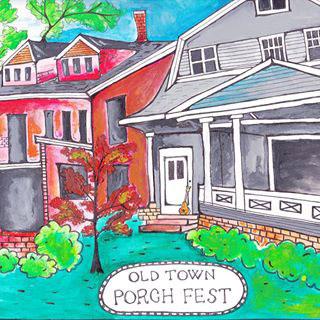 erie pa porchfest logo