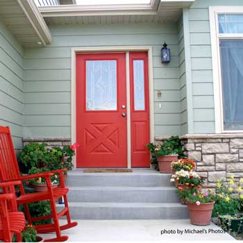 Red Exterior Front Door Part 83