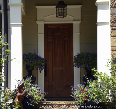 beautiful solid wood door