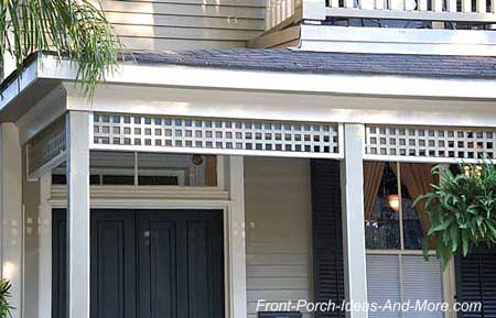 Exterior house trim outdoor trim brackets and spandrels for Exterior decorative trim for homes