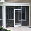 aluminum exterior screen door by PCA Products