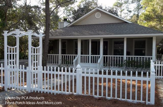 Use your aluminum screen door to maximize curb appeal for Screened in front porch