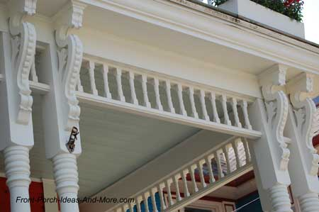 Colorful House Trim Brackets