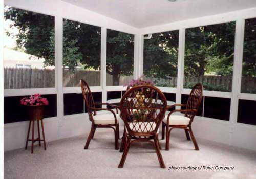 Versatile Screen Panels For Porches Decks Or Patios