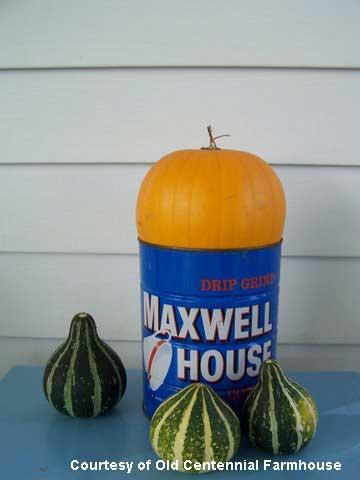 Simple basic fall decorating