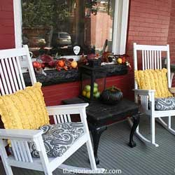 fall decorating ideas - fall porch