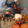 witches added to fall front porch display