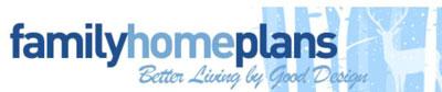 family home plans logo