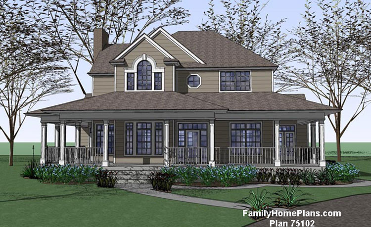 cape cod home built from plan by Family Home Plans