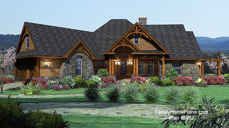 FamilyHomePlans.com house plan #65862