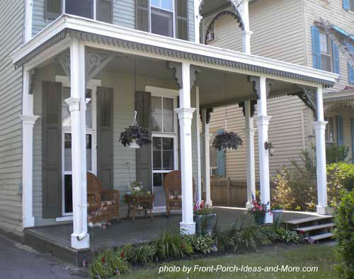 Front porch design ideas front porch designs front for Porch roof designs
