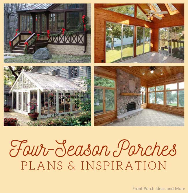 15 Deck Lighting Ideas For Every Season: Sun Porch And Sunrooms